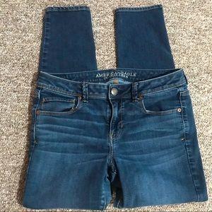 American Eagle Super Skinny Stretch Jeans Sz 10